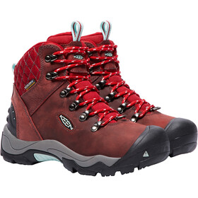 Keen Revel III Shoes Women Racing Red/Eggshell